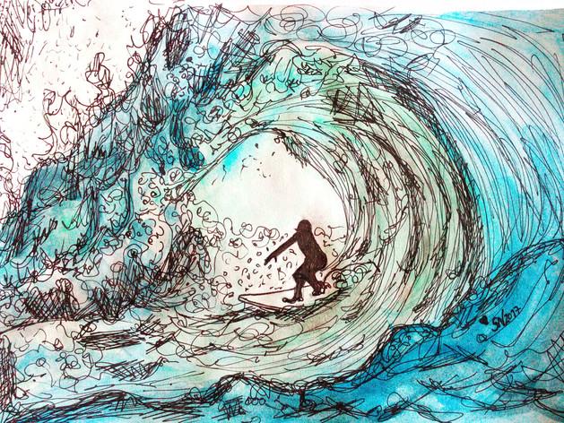 Surfing/Surfar