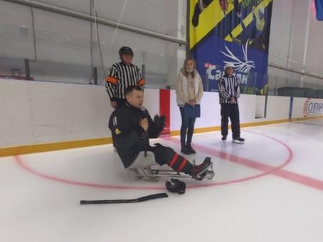 В Кумертау появится следж-хоккей!