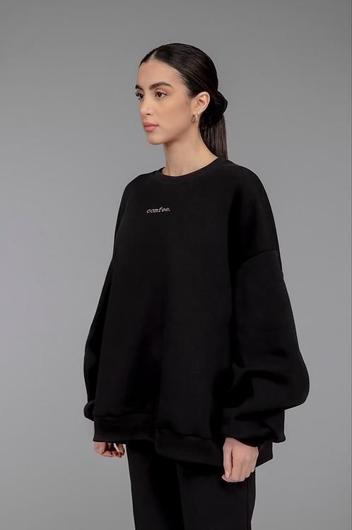 COMFEE. sweatshirt - black
