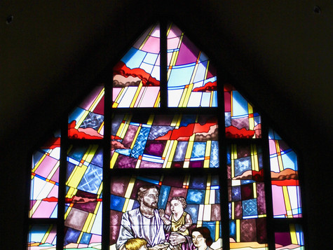 Stained Glass in the Main Church