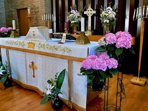 Decorated Altar