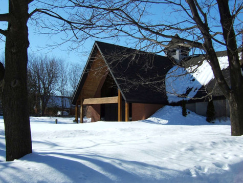 Front Entrance - Winter