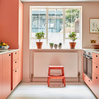 Grade II listed townhouse remodel and garden studio