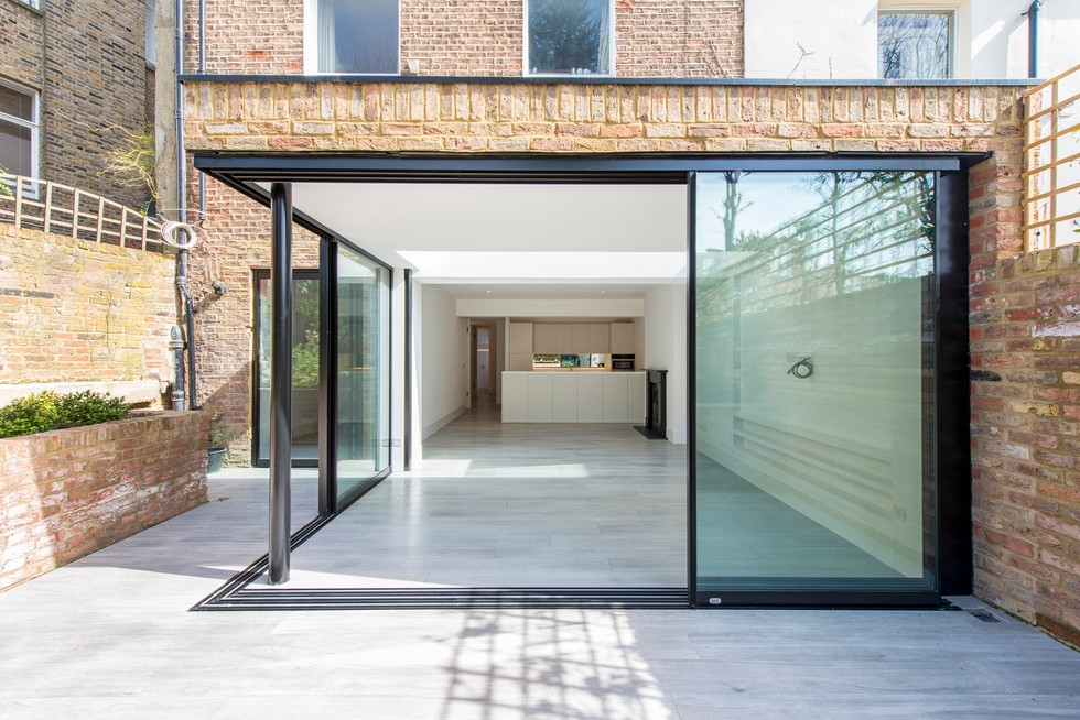 Belsize Park apartment remodel and extension