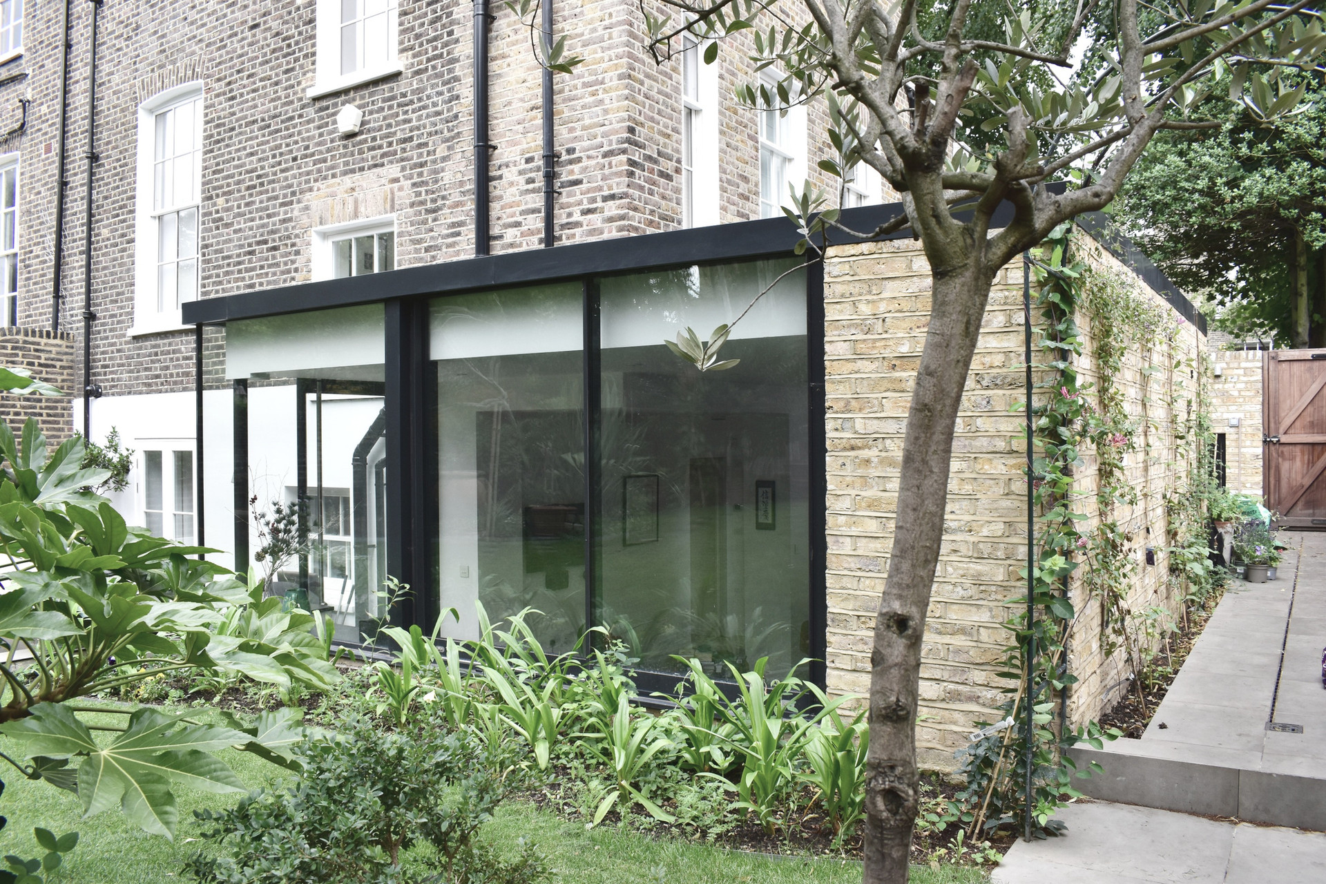 Canonbury Grade II listed house extension