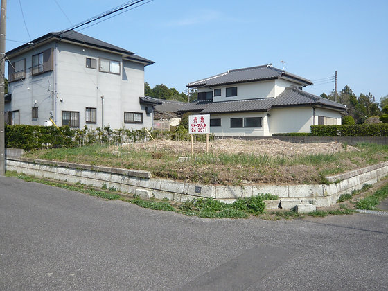 【売地】銚子市豊里台1丁目・宅地
