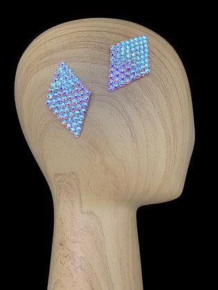 JHC - Crystal AB Hair Clips