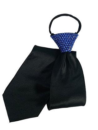 NF - Capri Blue Black Zip Tie
