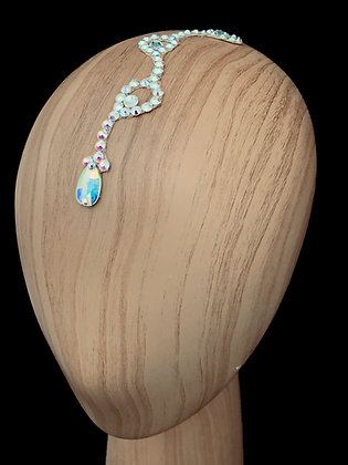 JLH503 Crystal AB Head Pieces