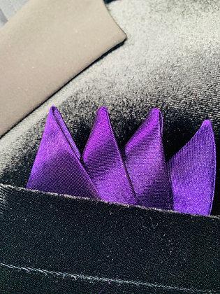 Purple Satin Packet Square
