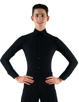 MS961 Black Smooth Shirt