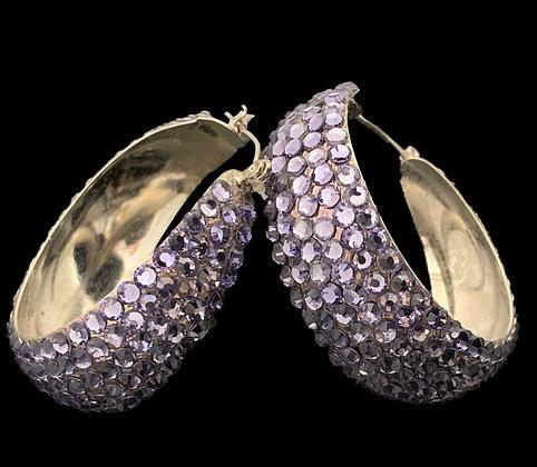 LUX - Light Amethyst Earrings