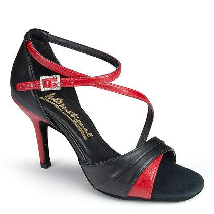 IDS Karina-Black Calf / Red