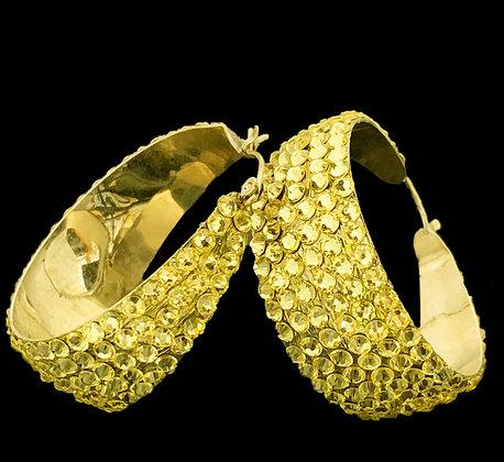 LUX - Citrine Earrings