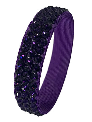 Stardust - Purple Velvet Bangle