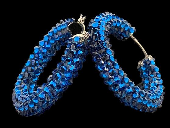 DSC - Capri Blue Earrings