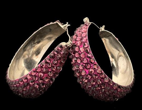 LUX - Amethyst Earrings