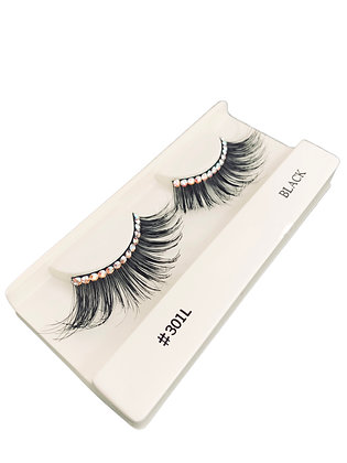 Rhinestone 301L Eye Lashes