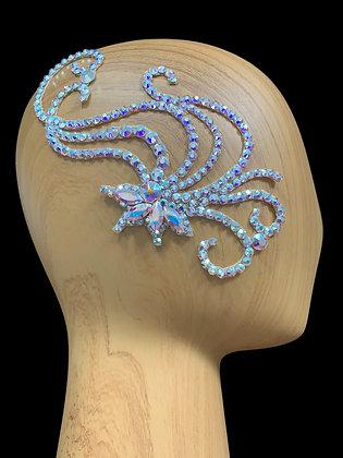 JLH160 Crystal AB Hair Piece