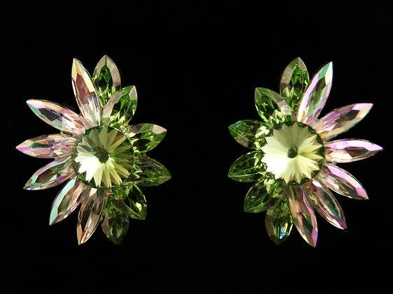 FC175 Swarovski Peridot Earrings