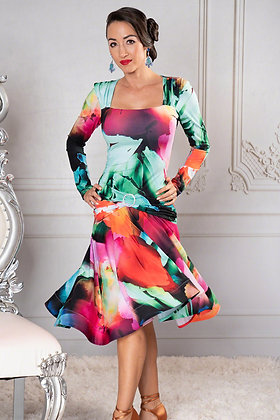 Dance America D909 Latin Dress