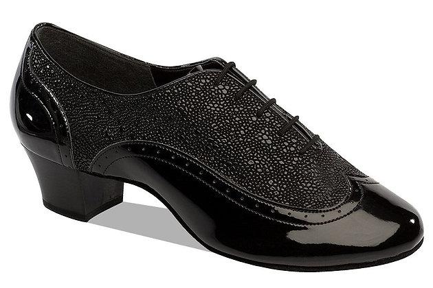 Style 6408 - Black Patent / Stingray