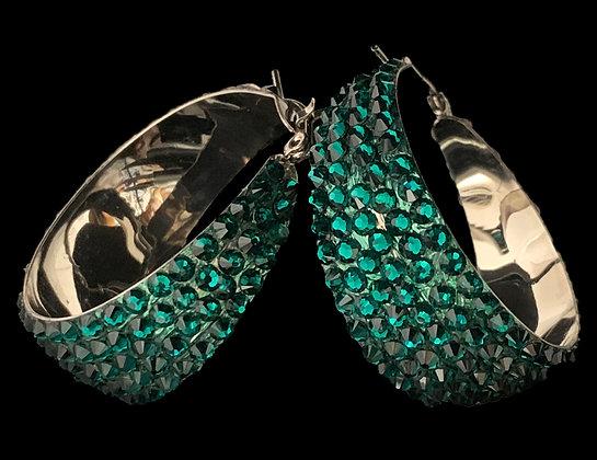 LUX - Emerald Earrings