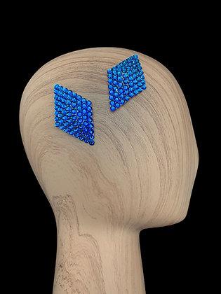 JHC - Capri Blue Hair Clips