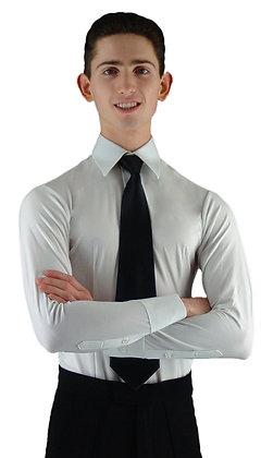 MS961 White Smooth Shirt