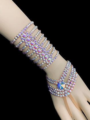 JLB11 - Crystal AB Bracelet Set