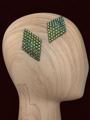 JHC - Olivine Hair Clips