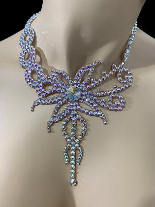 JLN09 - Crystal AB Necklace