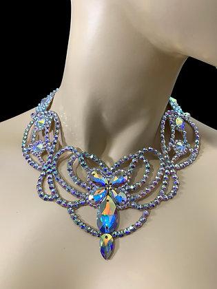 JLN11 - Crystal AB Necklace