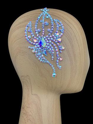 JLH127 Crystal AB Hair Piece