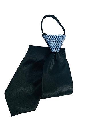 NF - Aquamarine Black Zip Tie