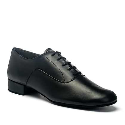 IDS Oxford - Black Leather