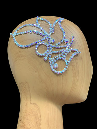 JLH156 Crystal AB Hair Piece
