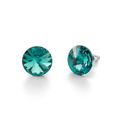 Elite Light Turquoise - Stud Earrings