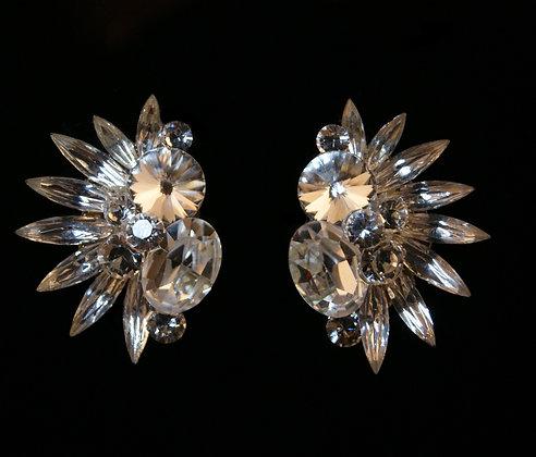 FC162 Swarovski Crystal Earrings