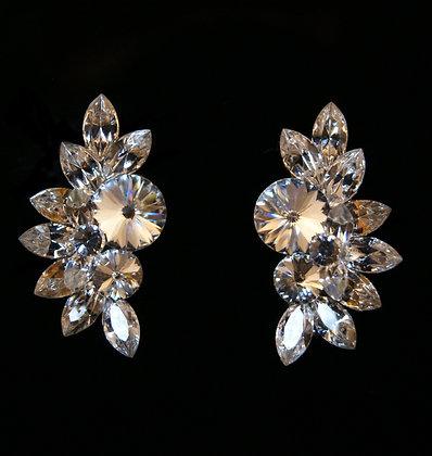 FC160 Swarovski Crystal Earrings