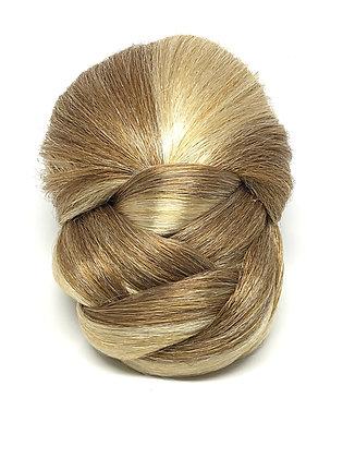 Braided Bun - Golden Blonde
