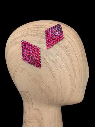 JHC - Fuchsia Hair Clips