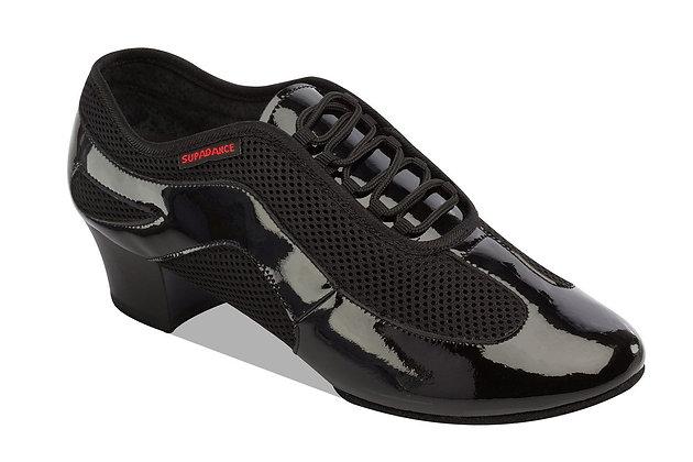 Style 8899 - Black Patent / Mesh