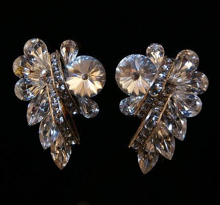 FC163 Swarovski Crystal Earrings