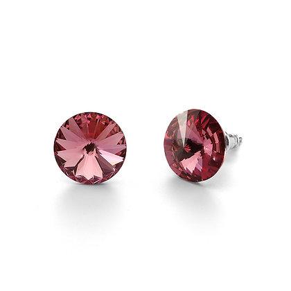 Elite Rose - Stud Earrings