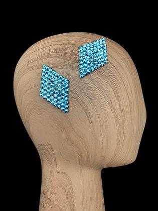 JHC - Sapphire AB Hair Clips