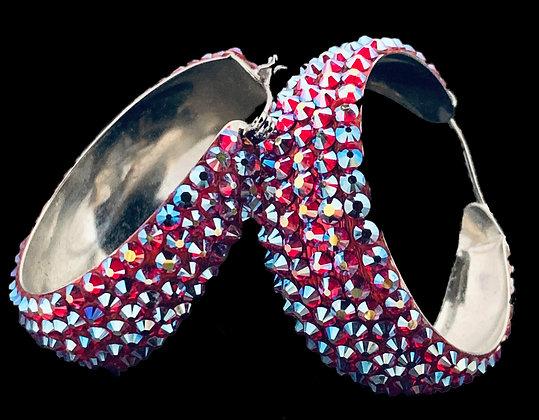 LUX - Siam AB Earrings