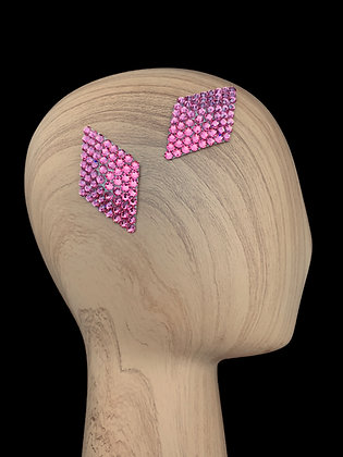 JHC - Rose Hair Clips