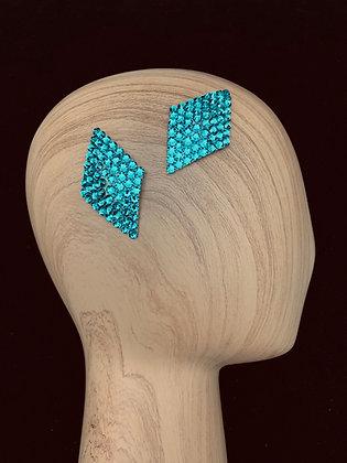 JHC - Blue Zircon Hair Clips
