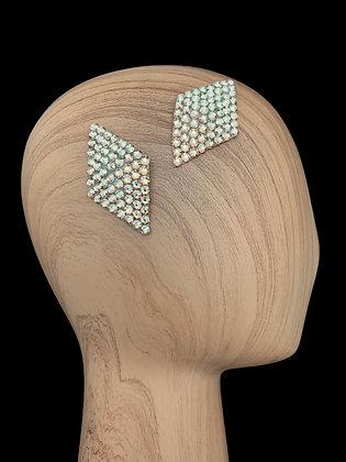 JHC -  Light Colorado Topaz Hair Clips